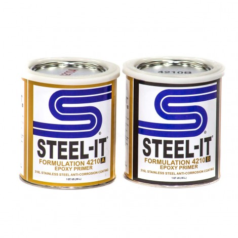 Steel-It Epoxy Primer 2 Quart Kit 4210Q