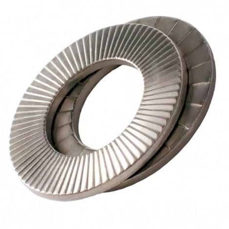 "Nord-Lock 1"" Locking Washer Oversized Carbon Steel 1331"