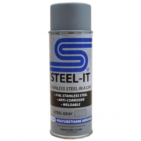 Steel-It Poly-U Aerosol Gray 1002B