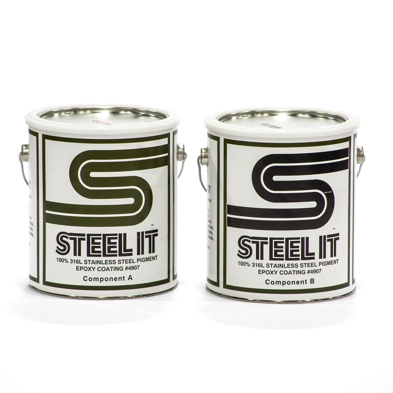 Steel-It Epoxy Finish 2 Gallon Kit 4907G