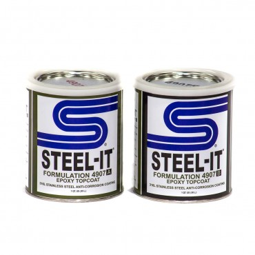 Steel-It Epoxy Finish 2 Quart Kit 4907Q