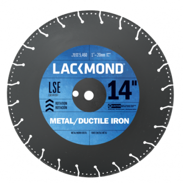 "Lackmond Steel Cutting Blade 14"" LSE141251"