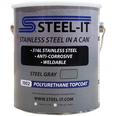 Steel-It Polyurethane Gallon Gray 1002G