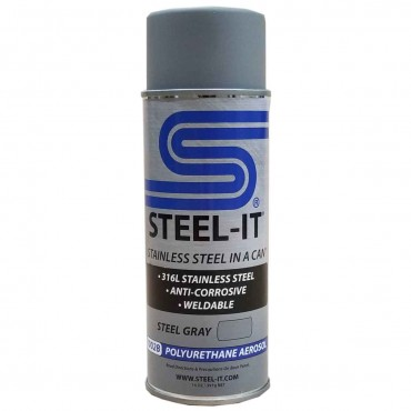 Steel-It Poly-U Aerosol Gray 1002B