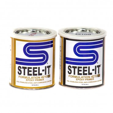 Steel-It Epoxy Primer 2 Quart Kit 4210Q